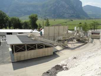 milling asphalt treatment plants