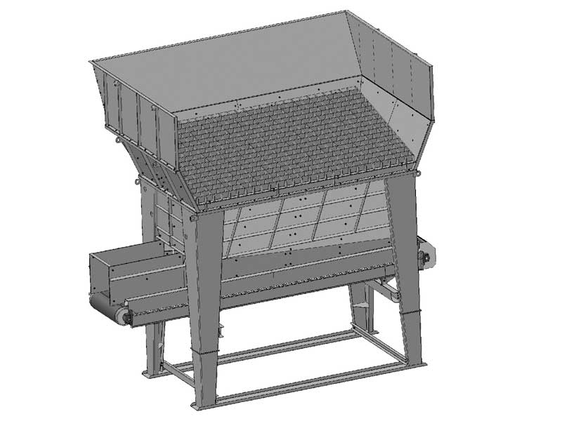 structures hoppers pozzato mineral crushing