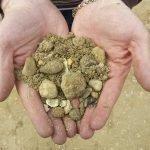 rimozione terra e argilla da materiali inerti